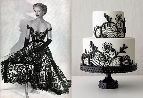 The Sexy And Sophisticated Touches On Black Wedding Gowns