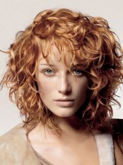 stylish haircuts curly hair