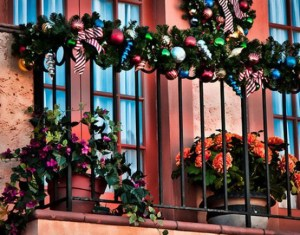 How To Decorate Your Balcony With Christmas Lights