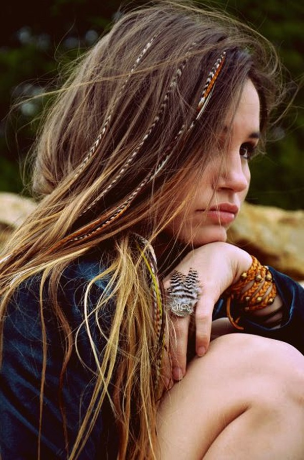 TOP 30 HIPPIE HAIRSTYLES TO GIVE A FUNKY LOOK TO UR HAIRS