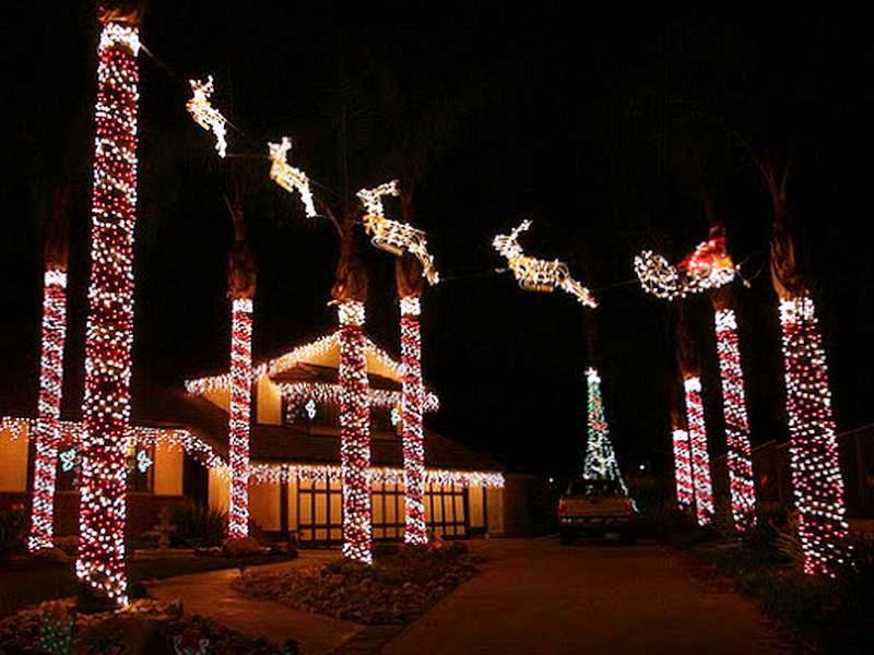 EXCLUSIVE OUTDOOR CHRISTMAS DECORATION INSPIRATIONS