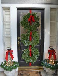 BEAUTIFUL OUTDOOR CHRISTMAS PORCH DECORATION IDEAS ...