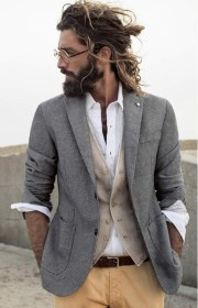 sexy bun hairstyles men
