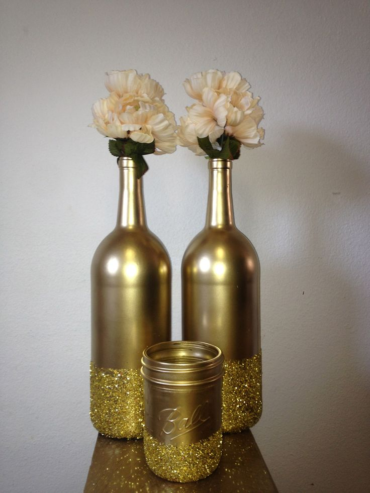25 CREATIVE WINE BOTTLE DECORATION IDEAS FOR THIS CHRISTMAS  Godfather Style