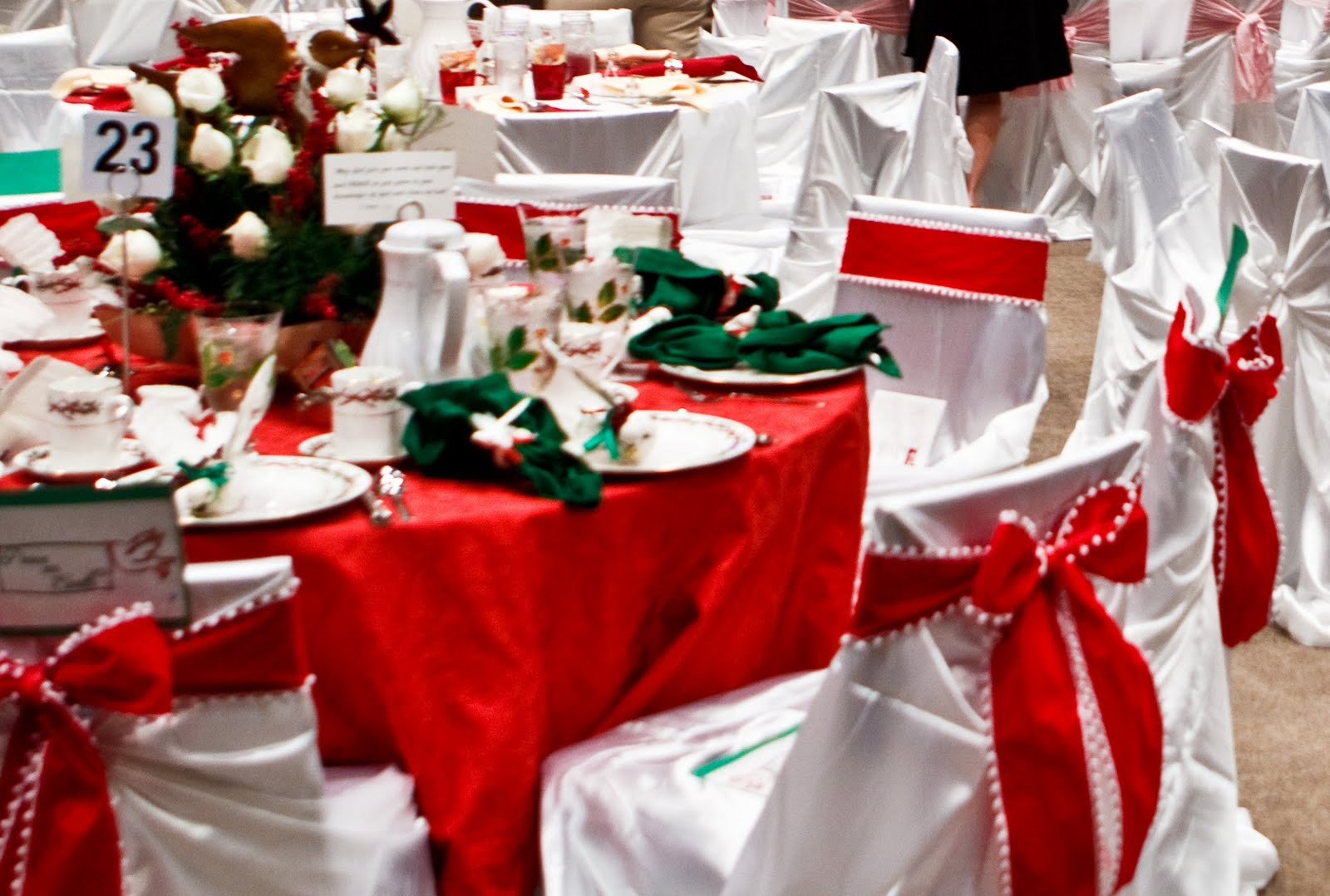 chair cover christmas decorations crushed velvet chairs dining decorate your dinning with these lovely