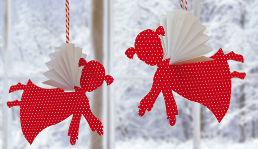 Mit Kindern Für Weihnachten Basteln 20 Fun To Make Easy Christmas Paper Crafts With Your Kids ...