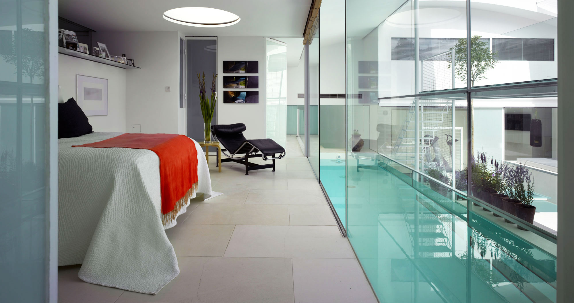 25 Cool Glass Bedroom Designs To Dream About