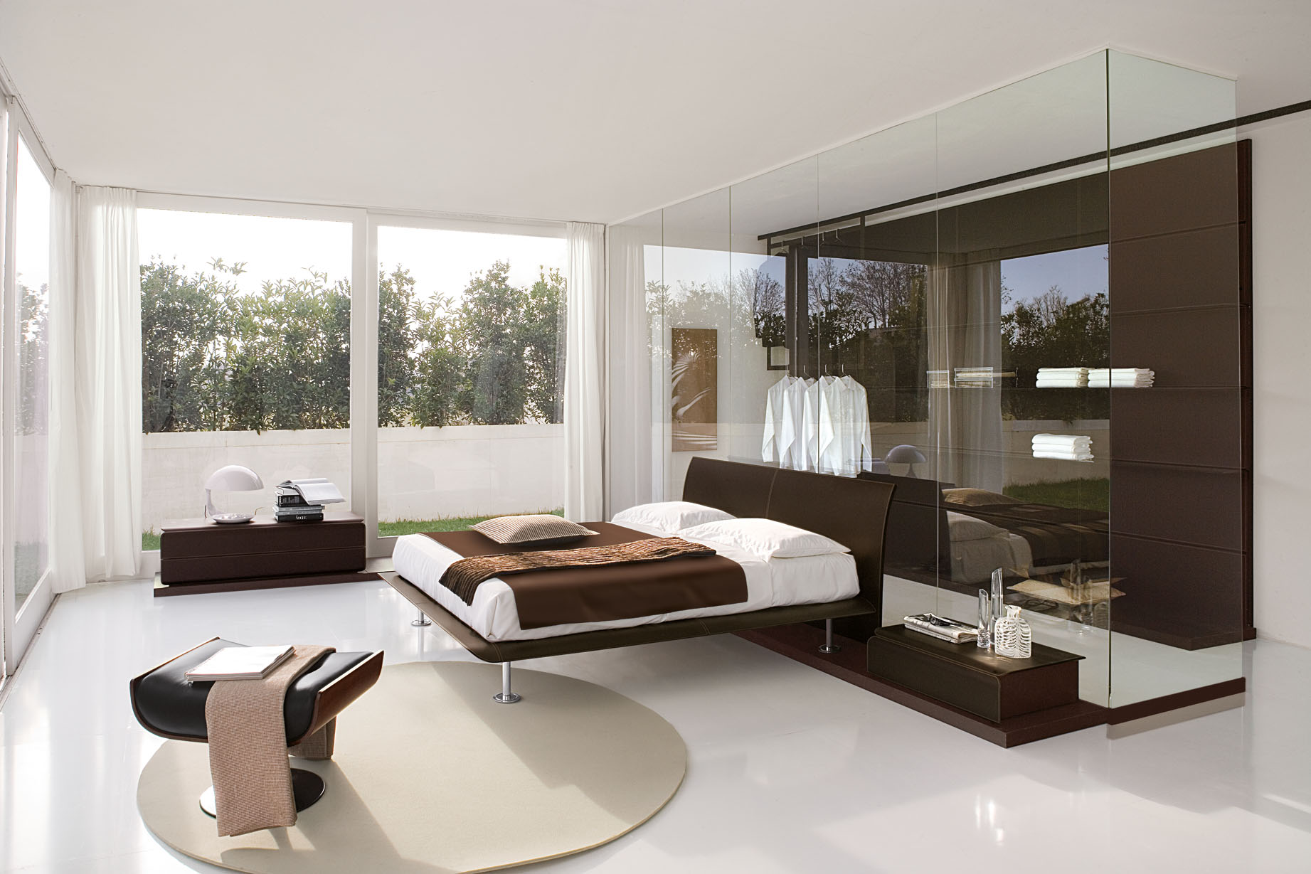 25 COOL GLASS BEDROOM DESIGNS TO DREAM ABOUT Godfather Style