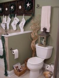 17 UNIQUE BATHROOM CHRISTMAS DECORATIONS.....