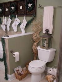 17 UNIQUE BATHROOM CHRISTMAS DECORATIONS..... - Godfather ...