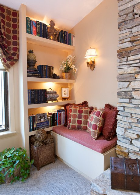 29 ATTRACTIVE READING NOOKS INSPIRATIONS FOR THE BOOK