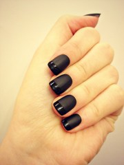 bold black nail art inspirations