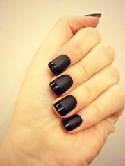 bold black nail art inspirations