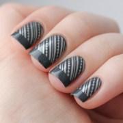 elegant grey nail art inspirations