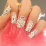 attractive spring wedding nail