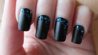 30 BOLD BLACK NAIL ART INSPIRATIONS...... - Godfather Style