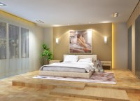 Inspiring Bedroom Wood Flooring - Home Design #1028