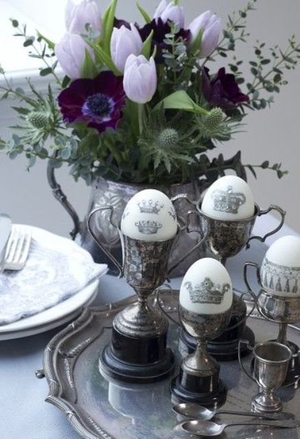 35 CLASSY VINTAGE EASTER DECORATIVE IDEAS Godfather