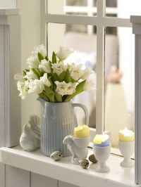 18 ELEGANT EASTER WINDOW DECORATING IDEAS.....