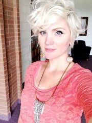 hot short curly pixie hairstyles