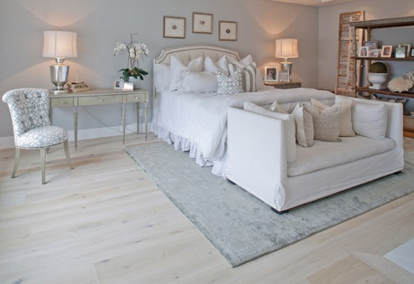 white floors in bedroom 33 RUSTIC WOODEN FLOOR BEDROOM DESIGN INSPIRATIONS - Godfather Style