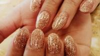 30 CLASSY GOLD GLITTERY NAIL DESIGNS.....