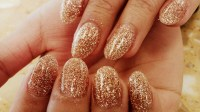 30 CLASSY GOLD GLITTERY NAIL DESIGNS..... - Godfather Style