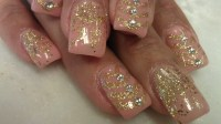 Gold Glitter Nail Designs | www.imgkid.com - The Image Kid ...