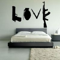 Lovely Love Wall Decals - Home Design #912