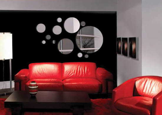 35 ABSTRACT WALL DECALS INSPIRATIONS  Godfather Style