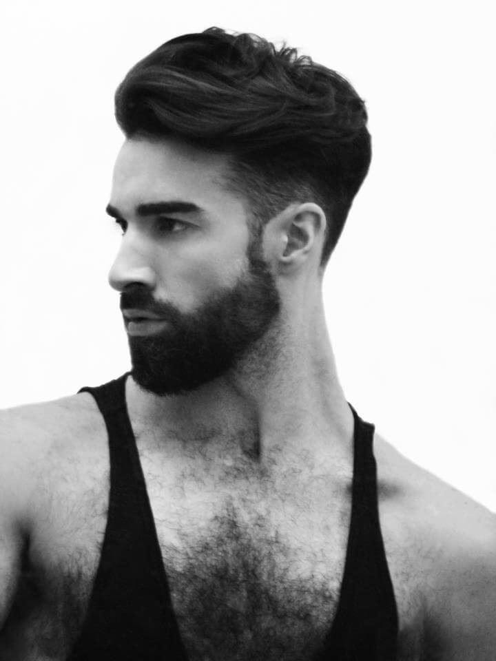 Good Hairstyles For Men With Beards Page 1