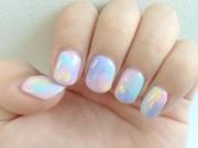 colorful spring nail art design