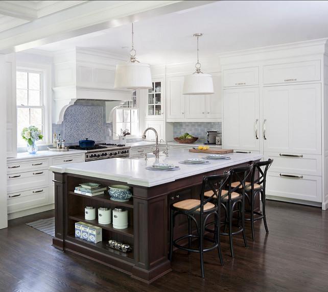 21 Spotless White Traditional Kitchen Designs