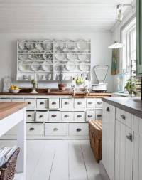 25 CHARMING SHABBY CHIC STYLE KITCHEN DESIGNS - Godfather ...