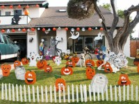 48 CREEPY OUTDOOR HALLOWEEN DECORATION IDEAS ...