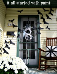 28 SPOOKY FRONT DOOR HALLOWEEN DECORATION INSPIRATIONS ...