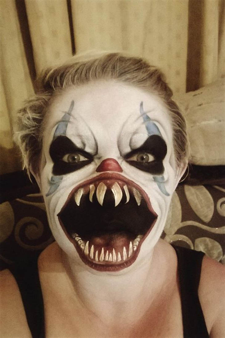 34 SCARY HALLOWEEN MAKEUP IDEAS  Godfather Style