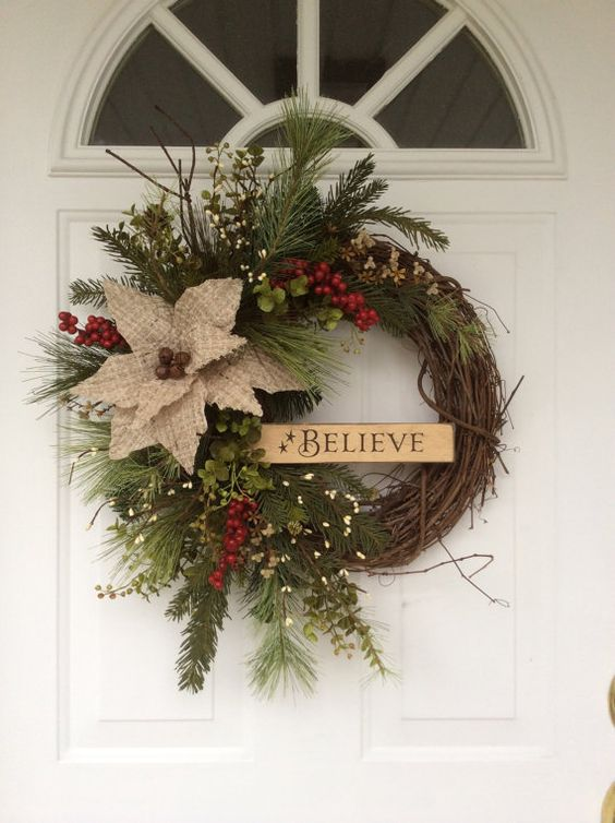 22 DIY CHRISTMAS WREATH DECOR INSPIRATIONS