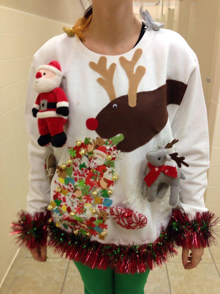 Funny Christmas Sweaters Diy