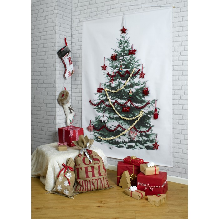 32 ARTIFICIAL WALL CHRISTMAS TREE INSPIRATIONS  Godfather Style