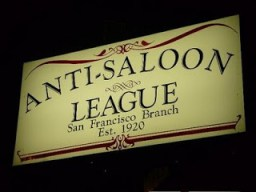 anti saloon league