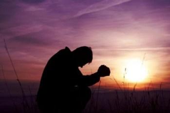 in prayer
