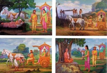 buddhism four sights