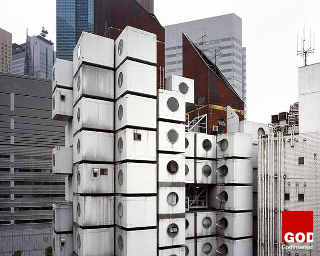 Japan's famed Capsule Tower (and its scheduled demolition!), an iconic structure and unique archetype for contemporary prefab architecture. Designed by Kisho Kurokawa