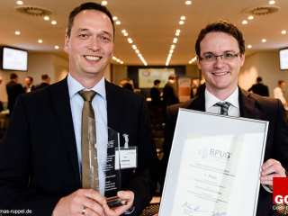Image 3.1 PRINCE2 Best practice award for the best German PRINCE2 project 2014 - presented by BPUG.
