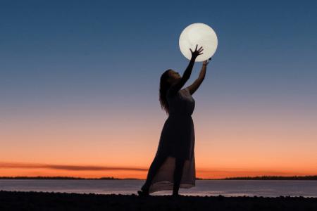 volle maan in vissen