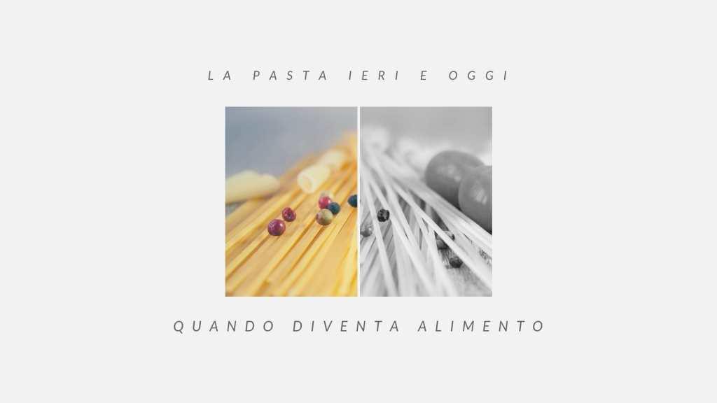 il perfezionamento della pasta e il concetto medievale di alimento