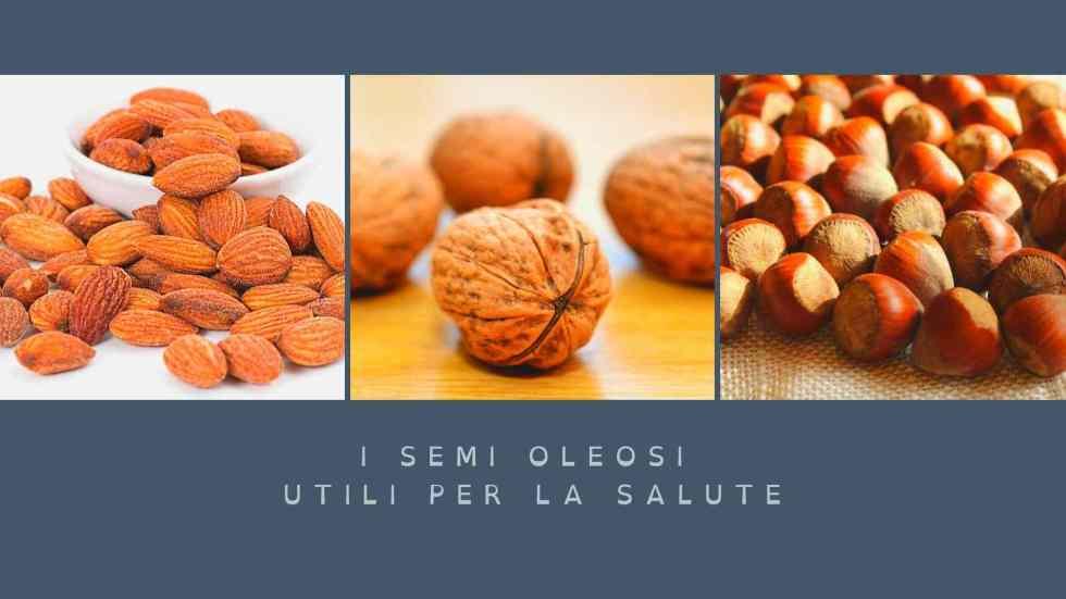 i semi oleosi utili per la salute