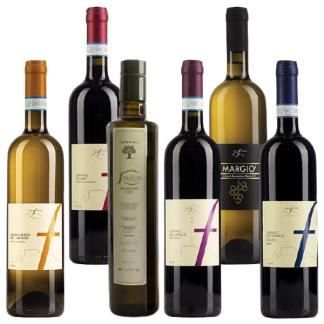 Selezione di Vini campani e Olio Extravergine di oliva campano