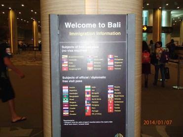 Bali, Indonesia Immigration